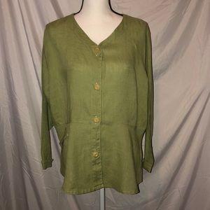 Flax brand top/jacket